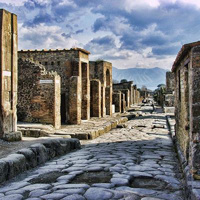 Strada di Pompei