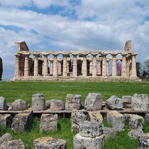 Capaccio Paestum templi